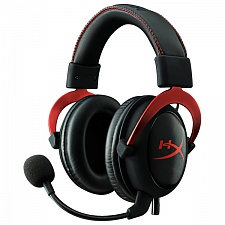 Игровые наушники Kingston HyperX Cloud II Red (KHX-HSCP-RD)
